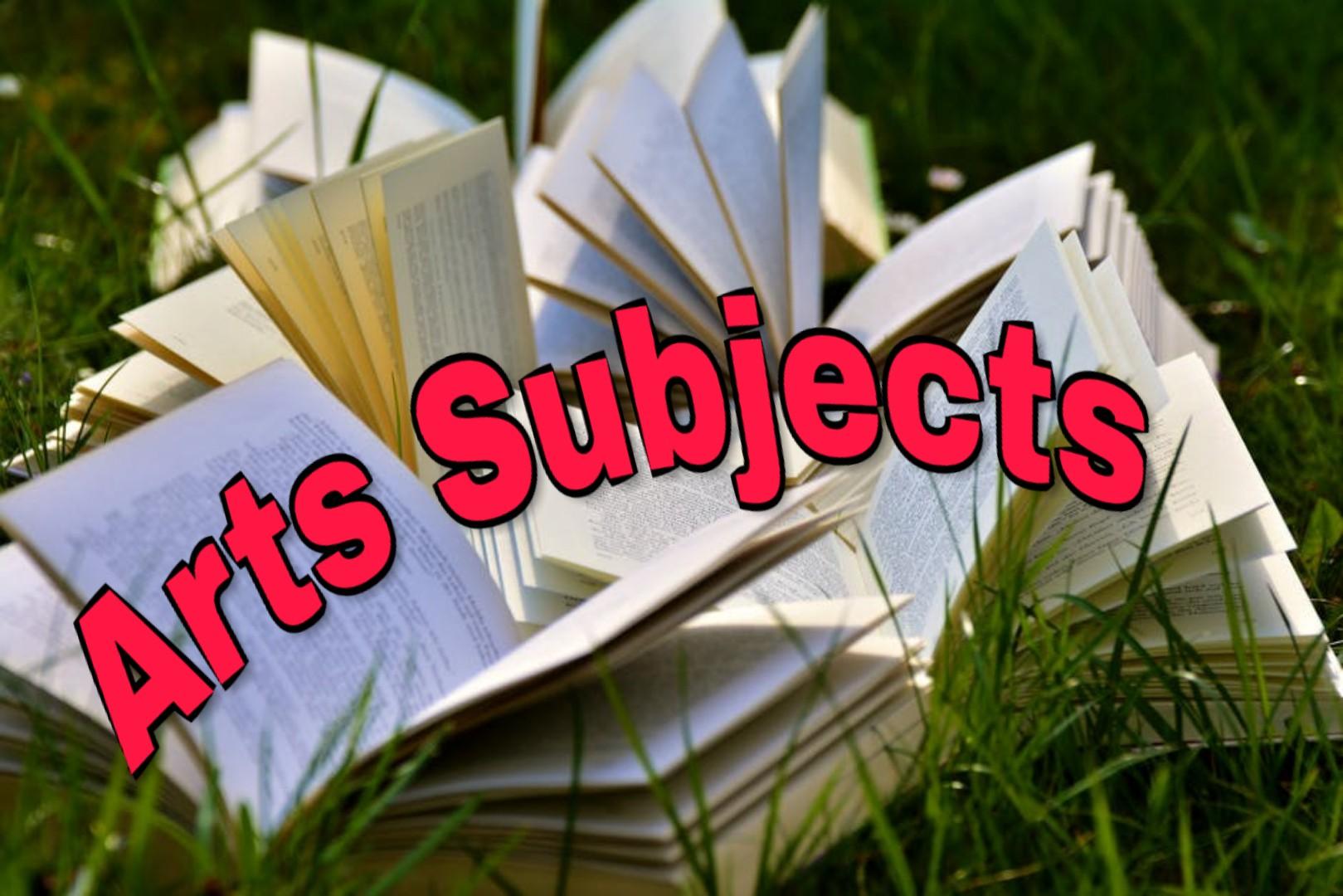 arts subjects
