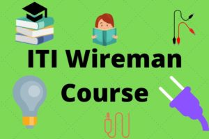 ITI Wireman Course details