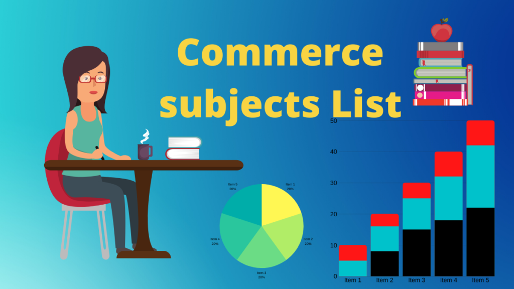 commerce all subjests name list