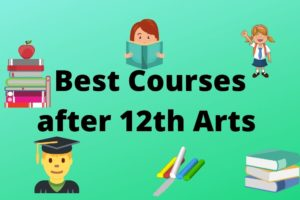 best courses after 12th arts stream