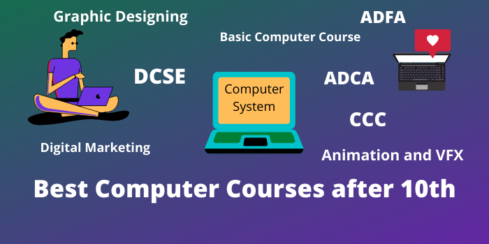 Best Computer Courses after 10th Class