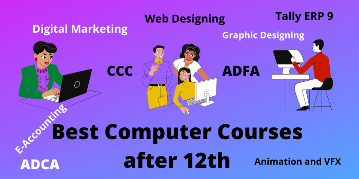 Best Computer courses after 12th class