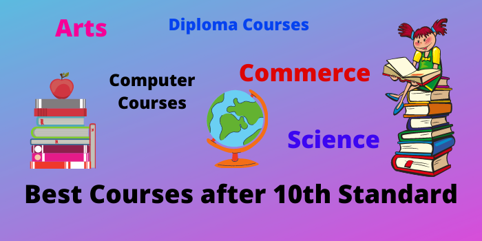 Best courses after 10th standard