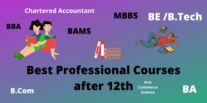 Best Professional Courses after 12th Class