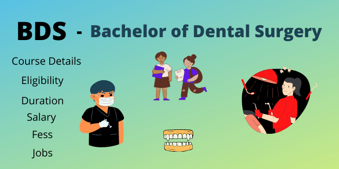 BDS Full Form Course Deatils Eligibility Duration salary jobs